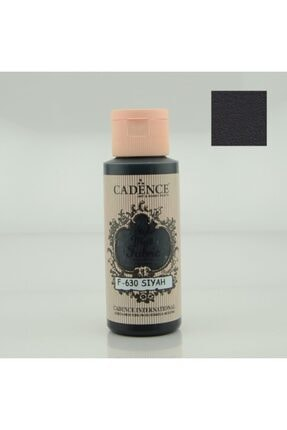 Cadence 630 Siyah Kumaş Boyası 59 ml