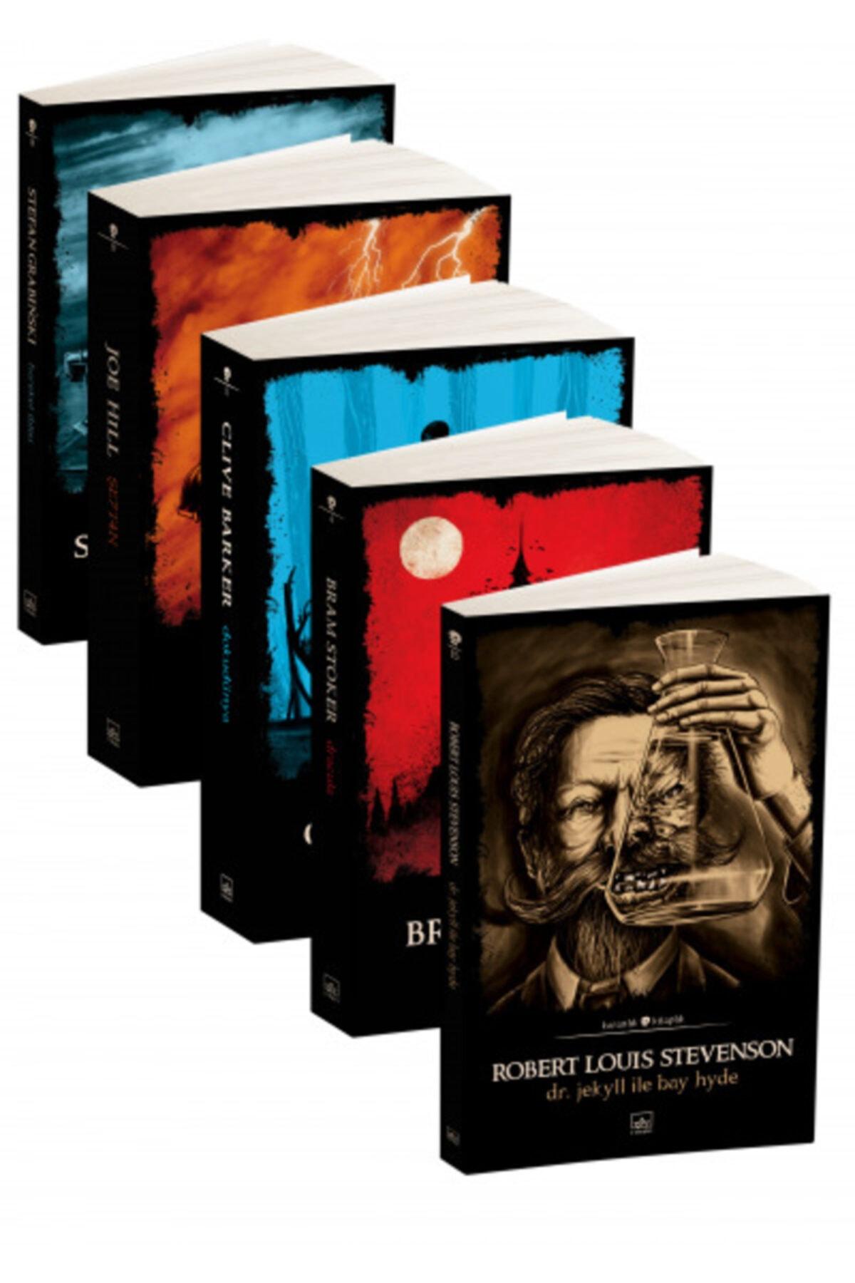 İthaki Yayınları Karanlık Kitaplık 5 Kitap Takım 1