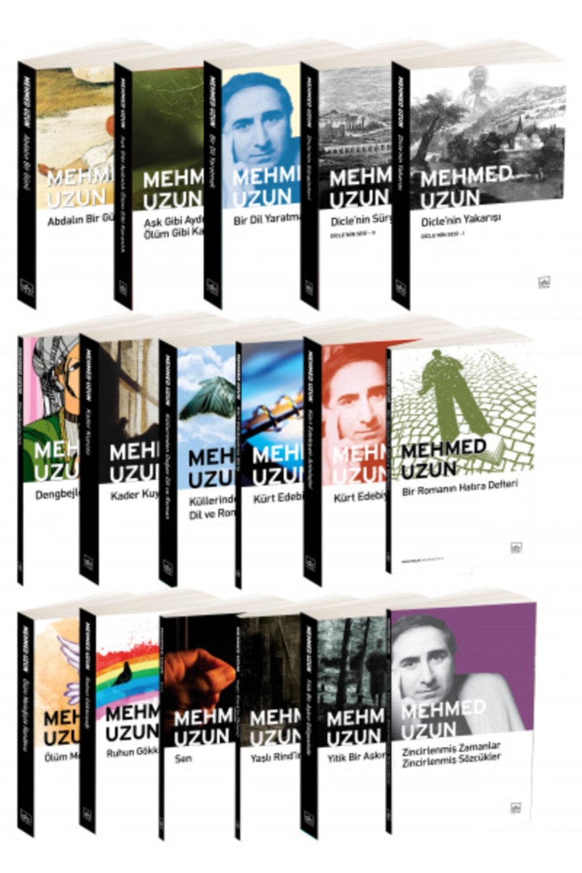 İthaki Yayınları Mehmed Uzun 17 Kitap Takım 1