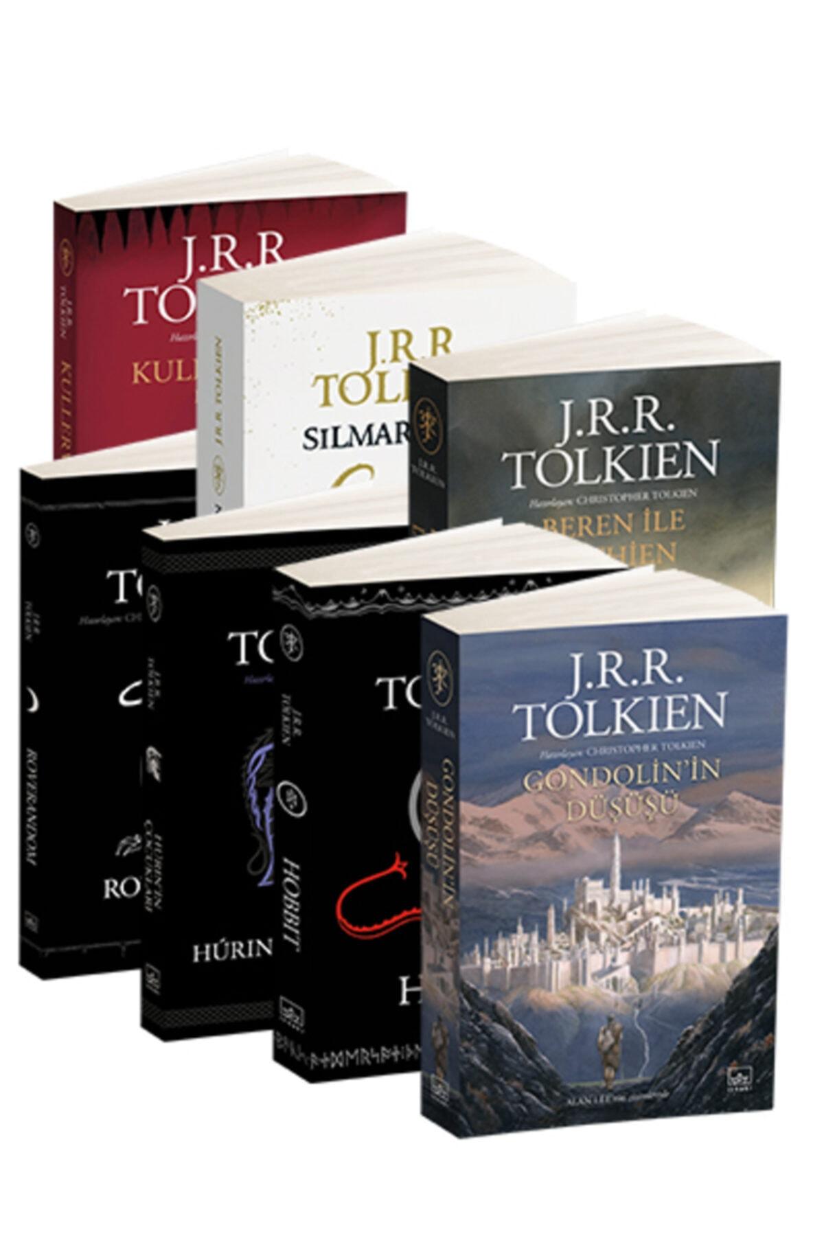 İthaki Yayınları J.R.R. Tolkien 7 Kitap Takım 1