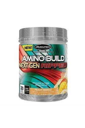 MUSCLETECH Amino Build Next Gen Ripped 296 Gr - ŞEFTALİ MANGO