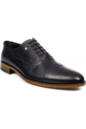 MARCOMEN Erkek Siyah Hakiki Deri Klasik Ayakkabı