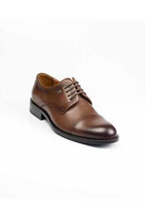 MARCOMEN Erkek Kahverengi Hakiki Deri Klasik Ayakkabı