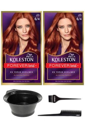 Wella 2'li Koleston 6/4 Kit Boya Kızıl Bakır Ve Saç Boyama Seti