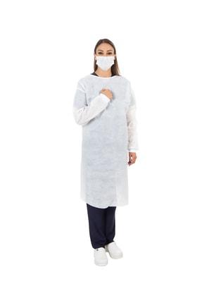 ZENTREND Diş Hekimleri Ve Klinikler Için Koruyucu Önlük Kadın 5 Li Paket