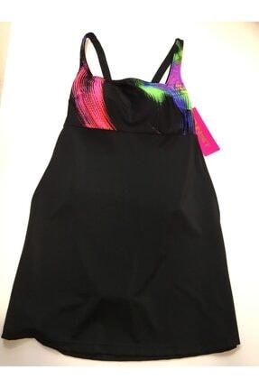 Sunset Kadın Siyah Elbise Mayo