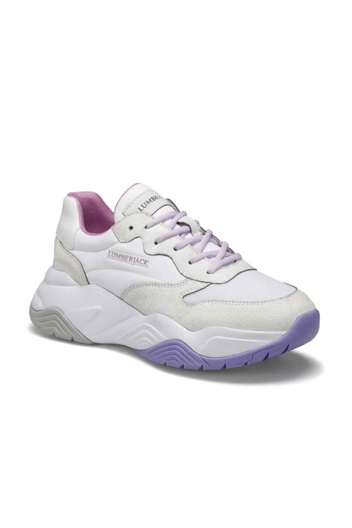 lumberjack Ecık Beyaz Kadın Sneaker Ayakkabı 1
