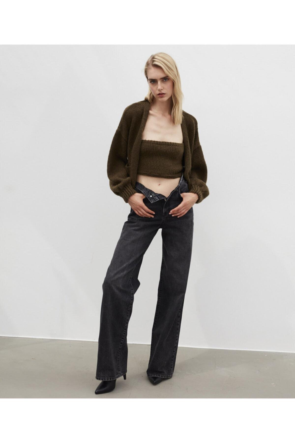 İpekyol Kadın Uzun Yüksek Bel Jean Pantolon 1