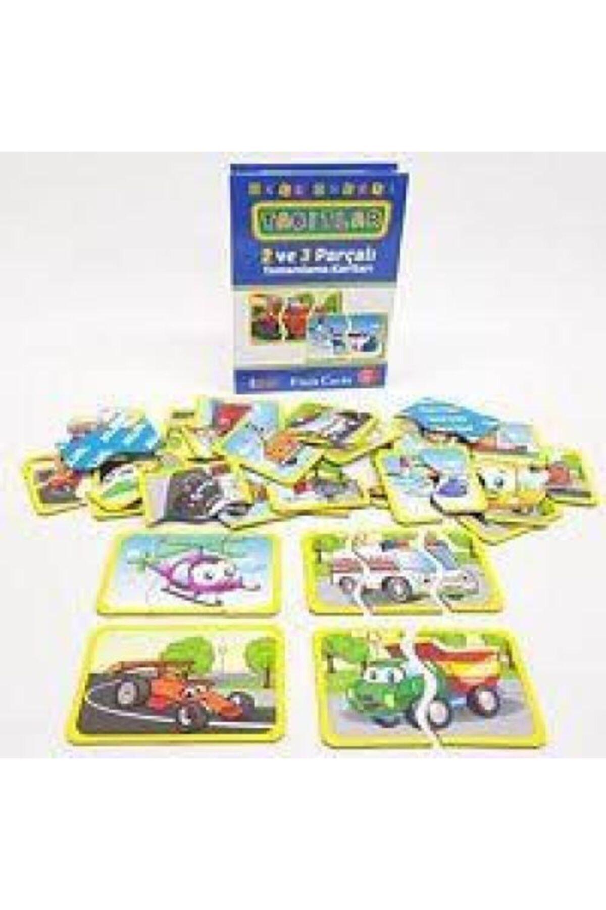 DIYTOY Puzzle Flash Kart Taşıtlar 2