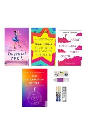 Destek Yayınları Bircan Yıldırım Kişisel Gelişim Seti 4 Kitap