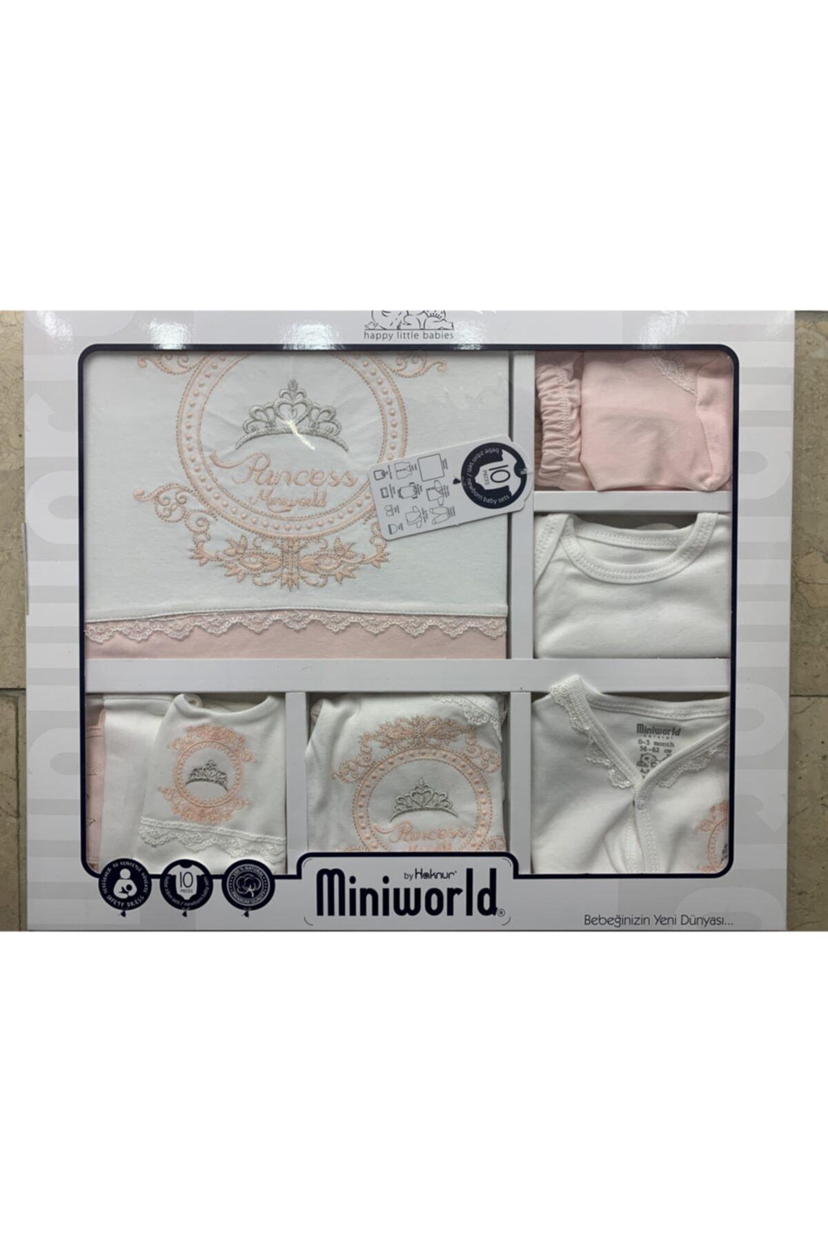 Miniworld Kız Çocuk Pembe 10'lu Hastane Çıkışı 1