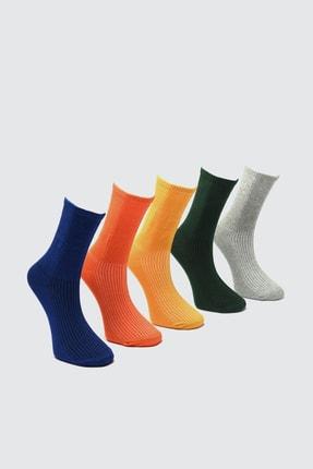 TRENDYOL MAN Çok Renkli Erkek 5'li Soket Çorap TMNAW21CO0076
