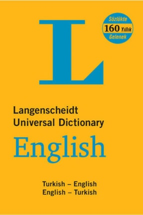 Altın Kitaplar Langenscheidt's Universal Dictionary English - Turkish / Turkish - English New And Revised Edition