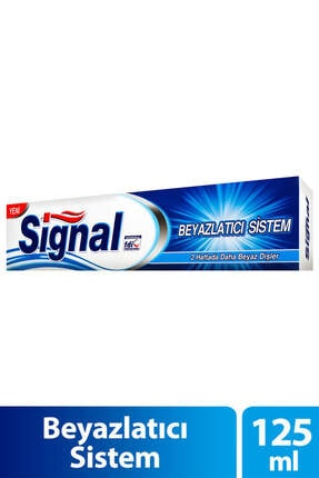 Signal Diş Macunu - Beyazlatıcı Sistem 125 Ml 1 Adet