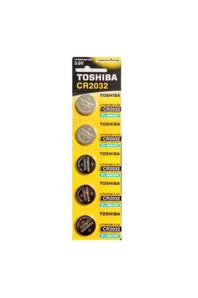 Toshiba Cr2032 Dl2032 Ecr2032 3.0v Lithium Pil 5 Adet