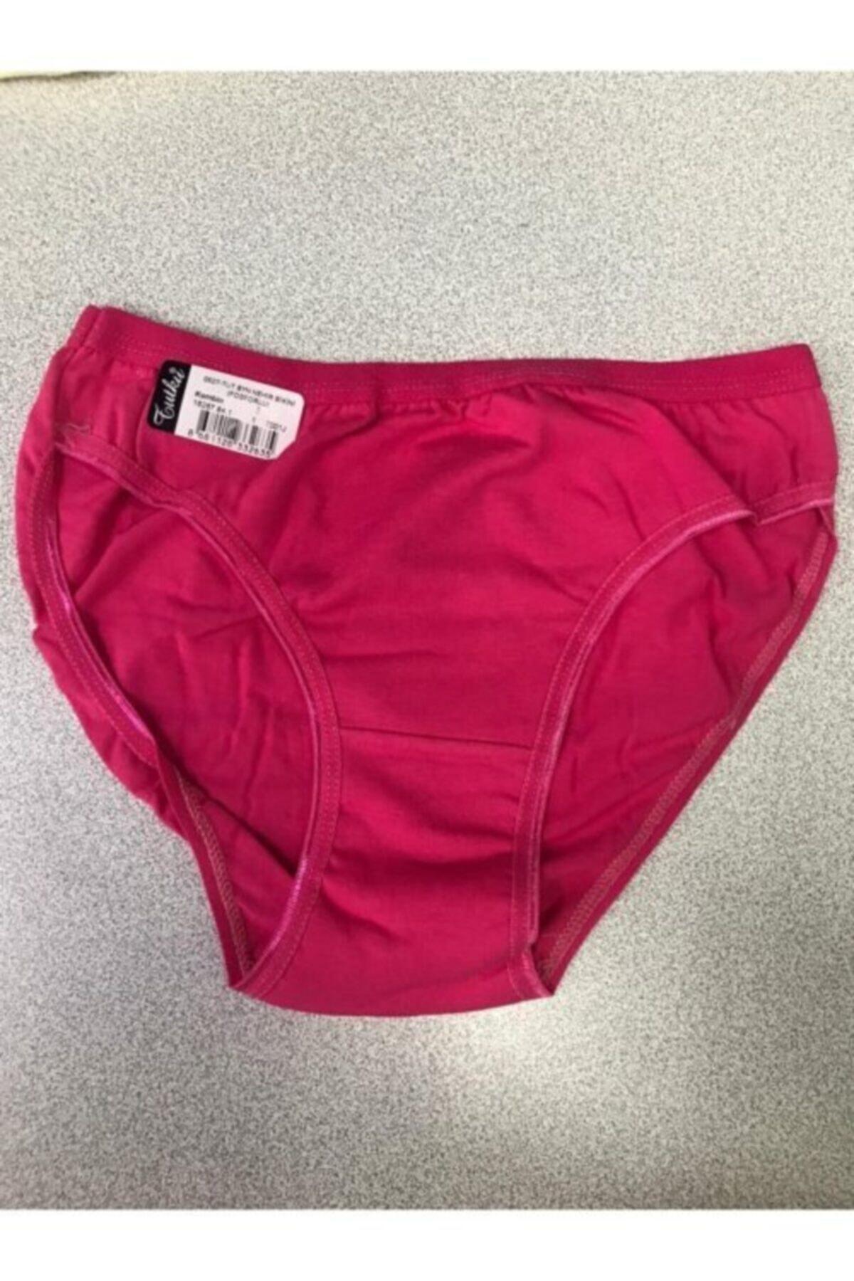 Tutku Kadın Pembe Nehir Bikini Külot 12'li Paket 2