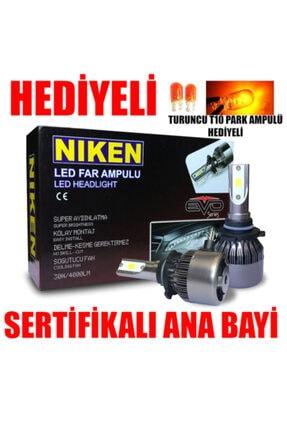 Niken H7 Led Xenon Evo Seri 4000 Lümen 6000k Beyaz Şimşek Etkili