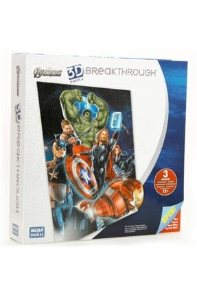Mega Puzzles Mega Puzzle 300 Parça 3 Boyutlu Puzzle Breakthrough The Avengers