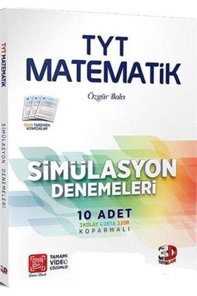 Çözüm Yayınları Tyt Matematik Simülasyon Denemeleri 10 Adet