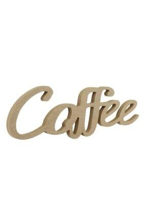 ÜMRANİYE HOBİ Ahşap Coffee Yazısı D-50