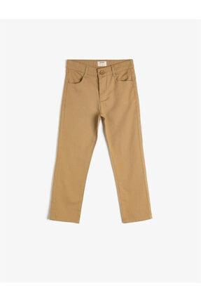 Koton Kids Bej Erkek Çocuk Pantolon