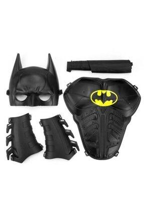 Mashotrend Batman Maske Kalkan Bileklik Pelerinli Set