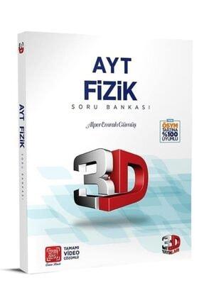 Çözüm Yayınları 3d Yayınları Ayt Fizik Soru Bankası Tamamı Video Çözümlü