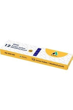 Adel Basic Köşeli Daldırma Kurşun Kalem Hb 12li Paket
