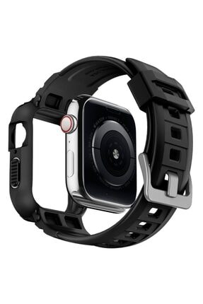 Spigen Apple Watch Seri 6/se/5/4 Uyumlu (40mm) Kılıf, Rugged Armor Pro