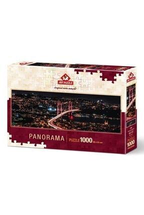 Art Puzzle Asya'dan Avrupa'ya 1000 Parça Panorama Puzzle 4480