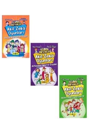 Hayat Yayınları Akıl Ve Zeka Oyunları Seti 3 Kitap Oğuz Saygın-ekrem Saygın