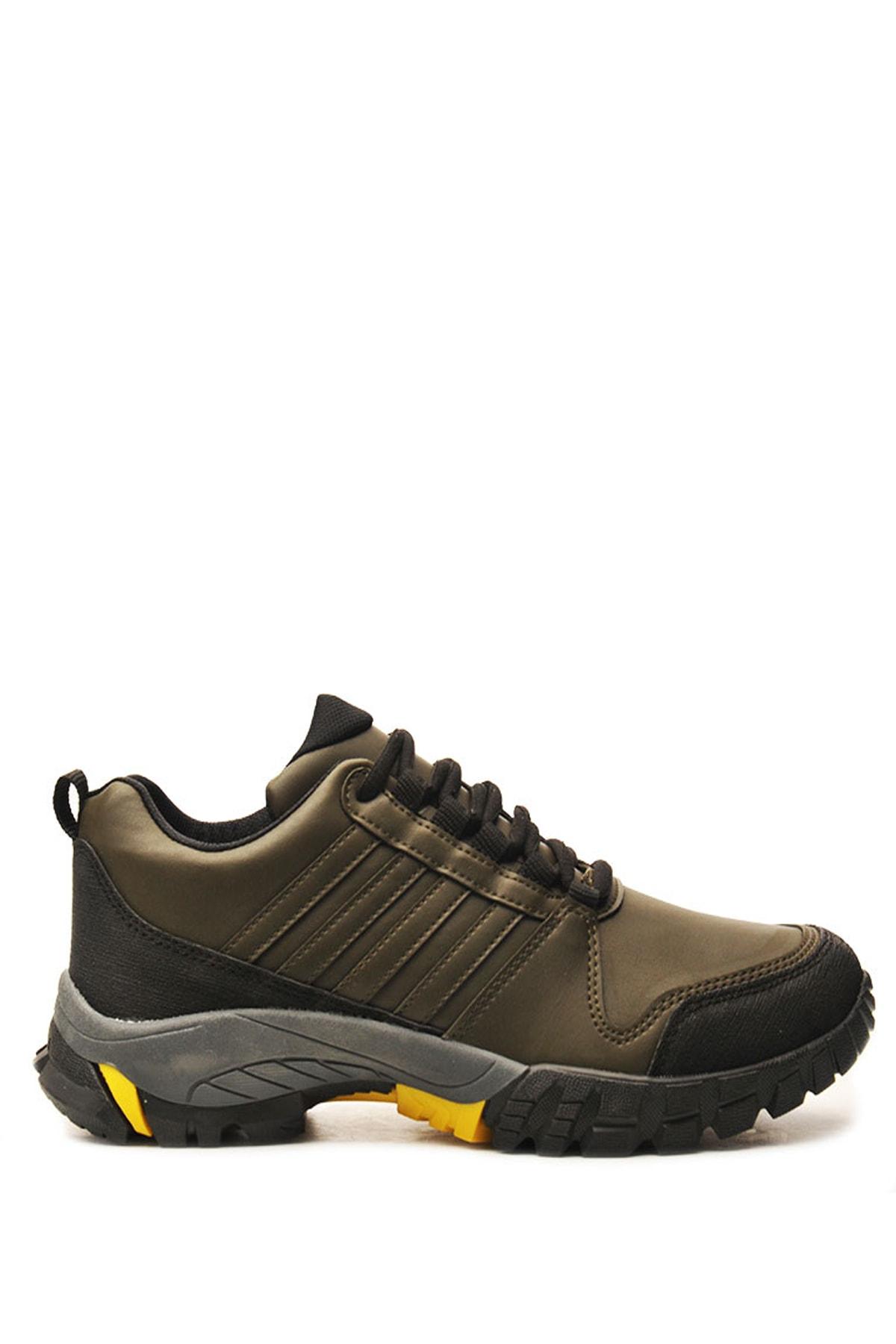 Bulldozer 210420 Hakı Sarı Erkek Treakıng Ayakkabı 1