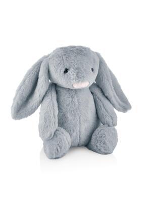 Babyjem Uyku Arkadaşım Tavşan Küçük 34 Cm Gri