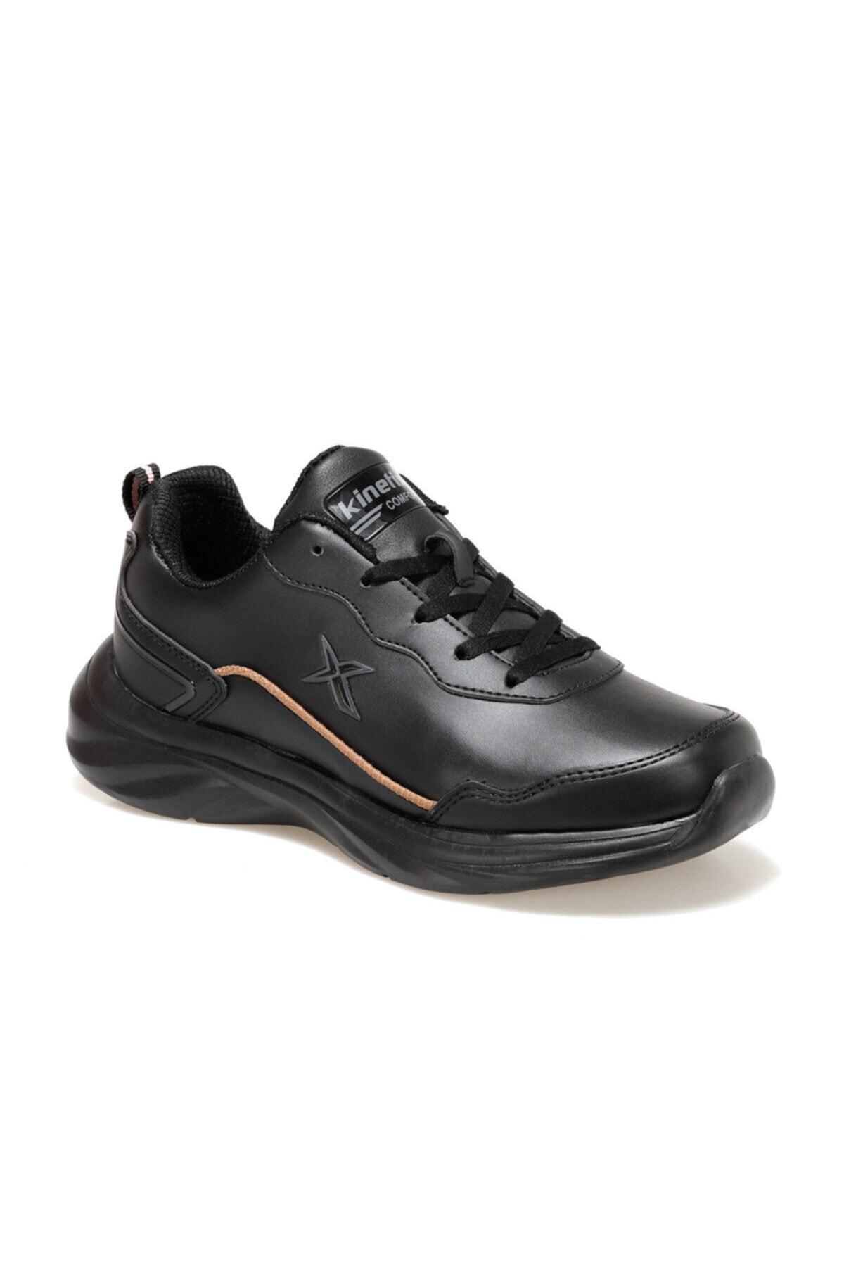 Kinetix Elıta Pu W Siyah Kadın Comfort Ayakkabı 1