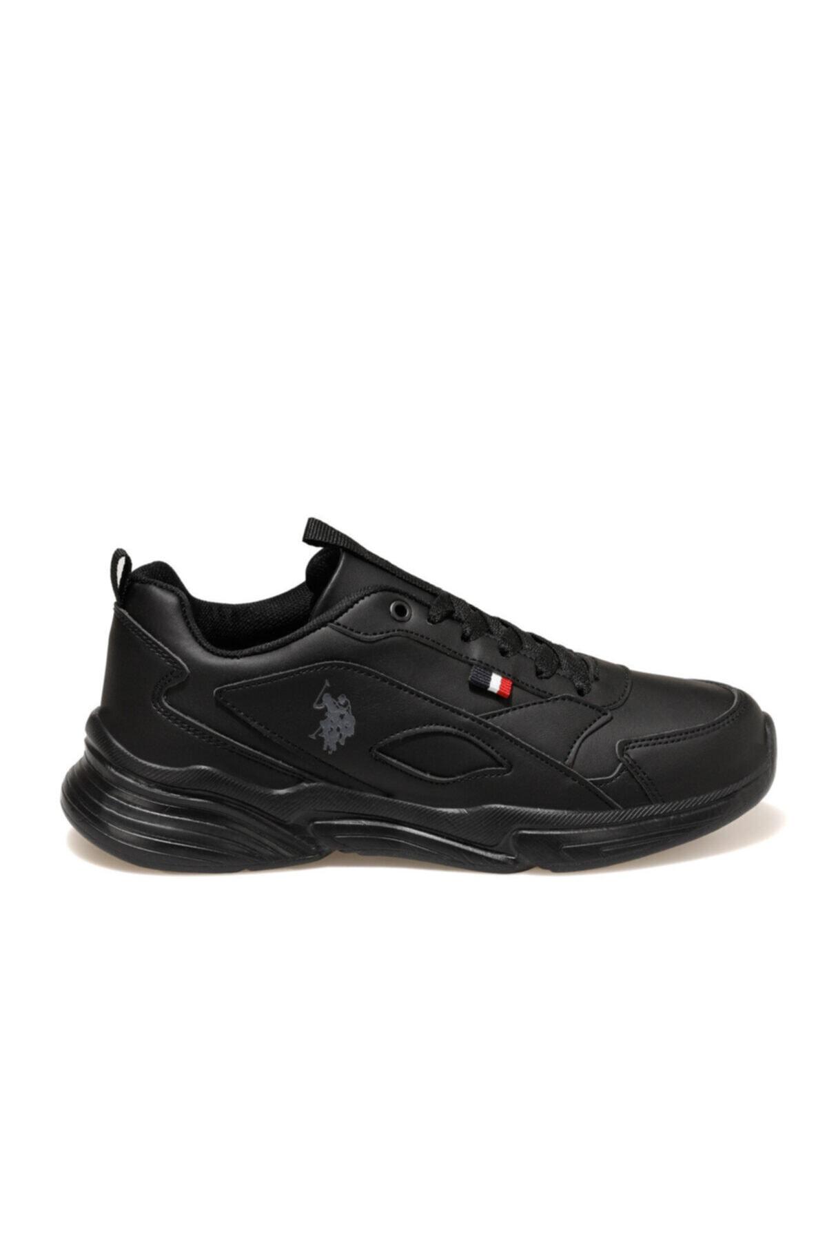 U.S. Polo Assn. LEMON Siyah Kadın Sneaker Ayakkabı 100549061 2