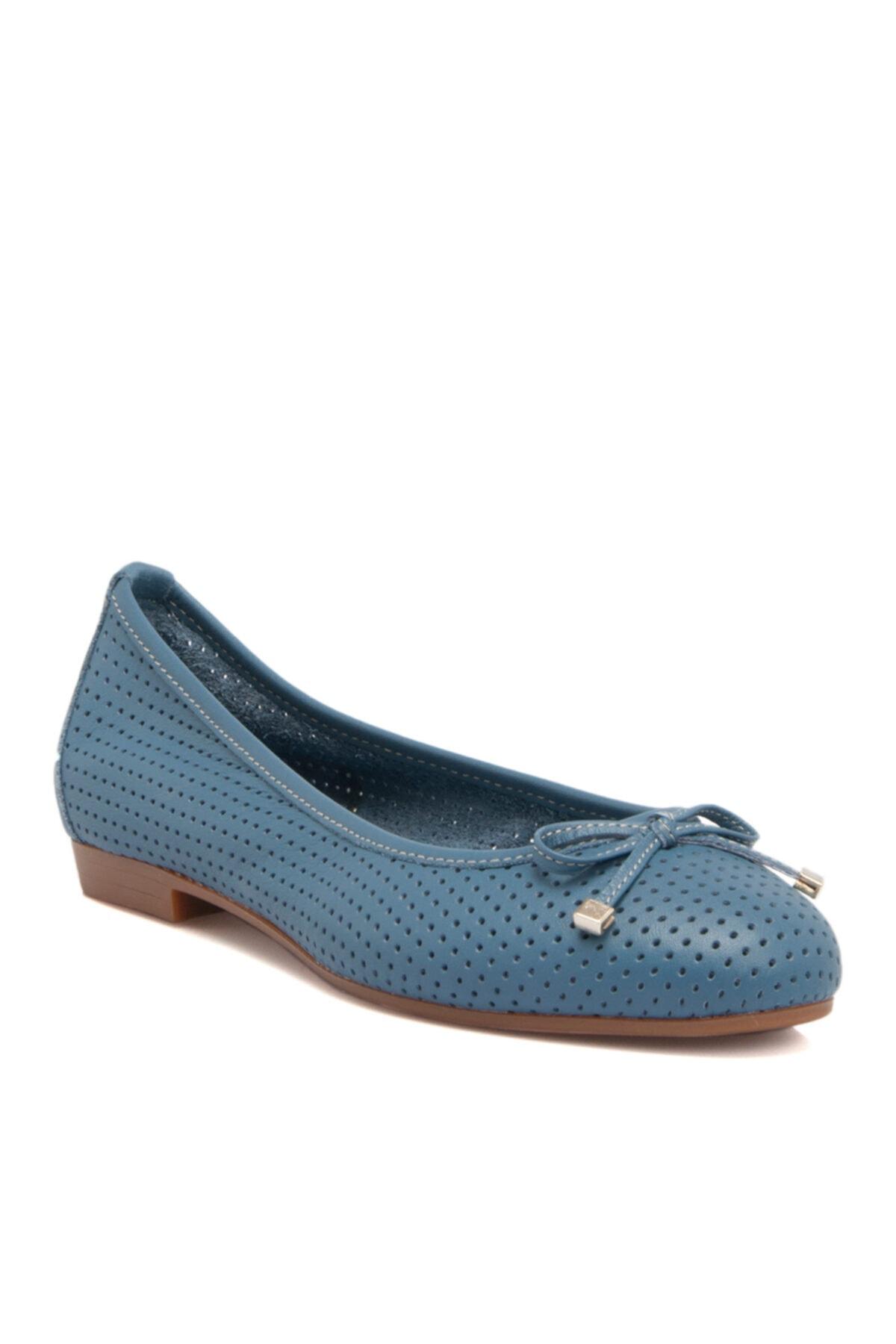 Tergan Mavi Kadın Babet 64506k67 1