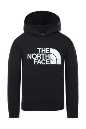 THE NORTH FACE Drew Peak Pullover Hoodie Çocuk Sweatshirt Siyah