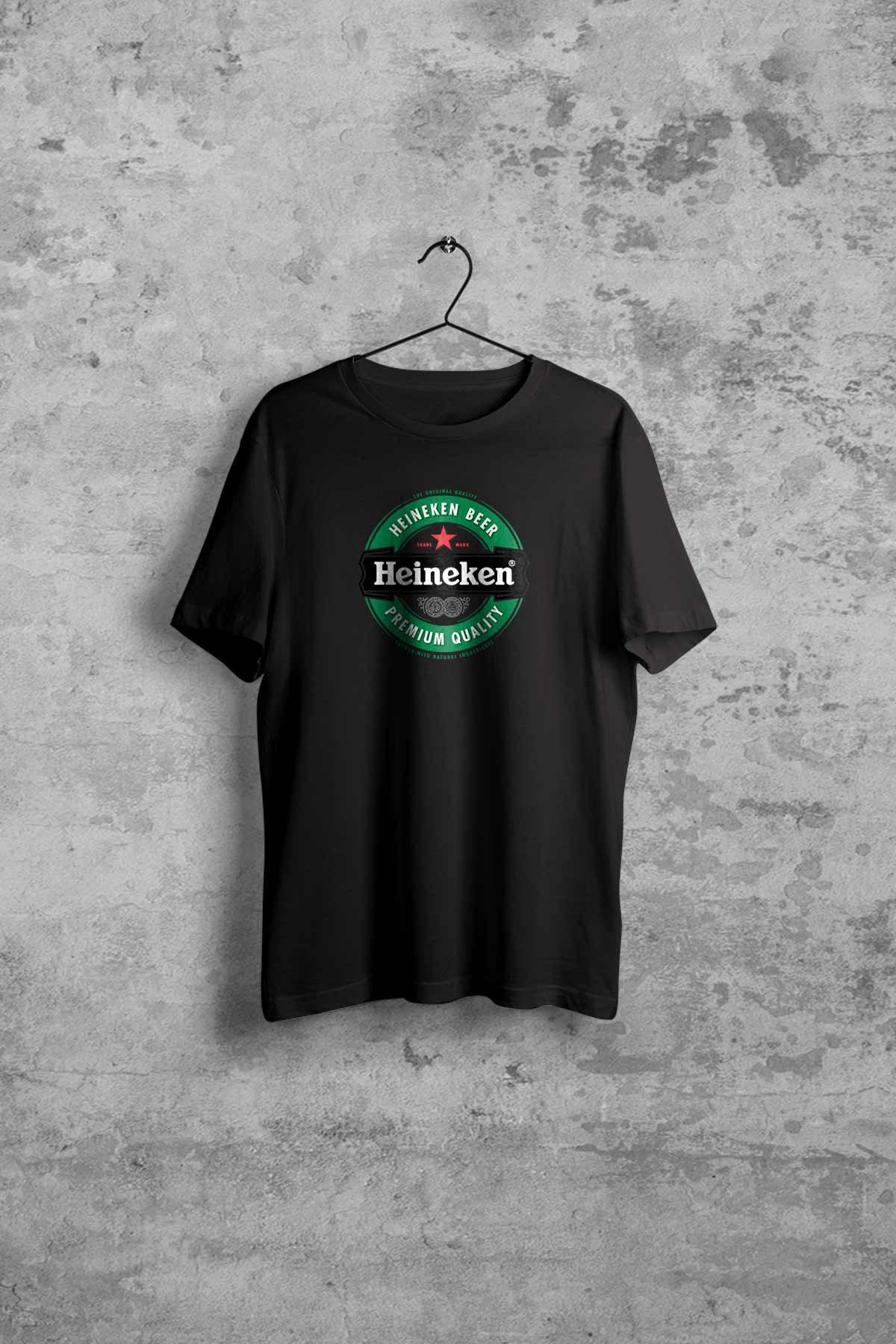 Comoestas Heineken Erkek Siyah Tshirt 1