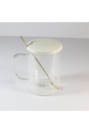 Cooker Cam Kupa Bardak 400 ml Beyaz