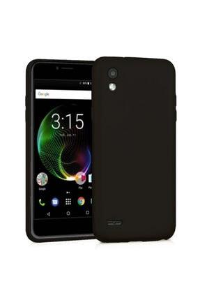 Vestel Venus V3 5040 Premium Simple Silikon Arka Kapak Siyah