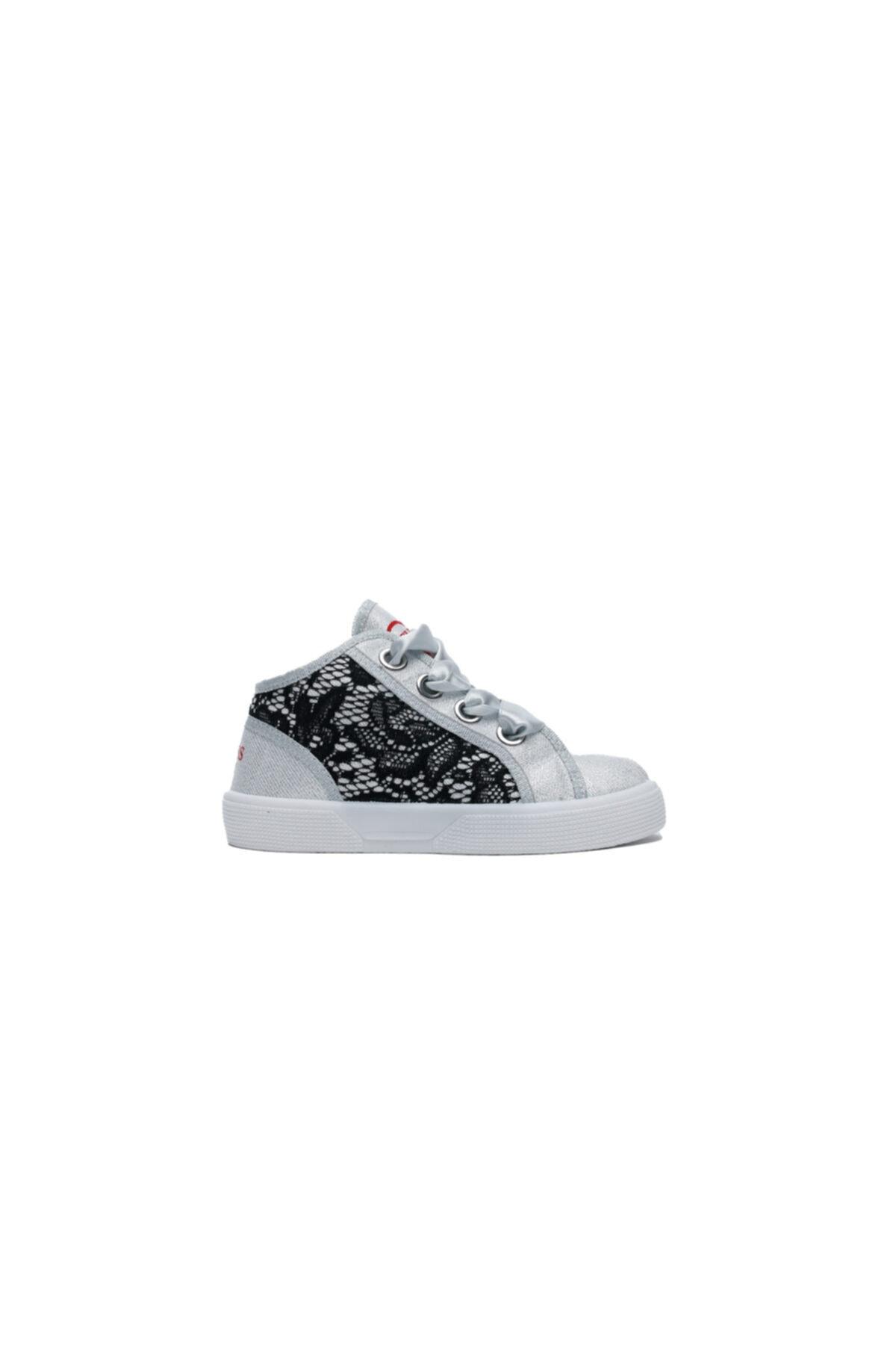 Guess Piuma Lace Çocuk Gri Günlük Ayakkabı 1