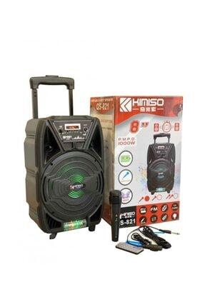 Platoon Pl-4429 Bluetooth Usb/sd/aux Karaoke Mic. Seyyar Anfi Speaker