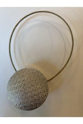 mova perde Gümüş Mıknatıslı Perde Mandalı