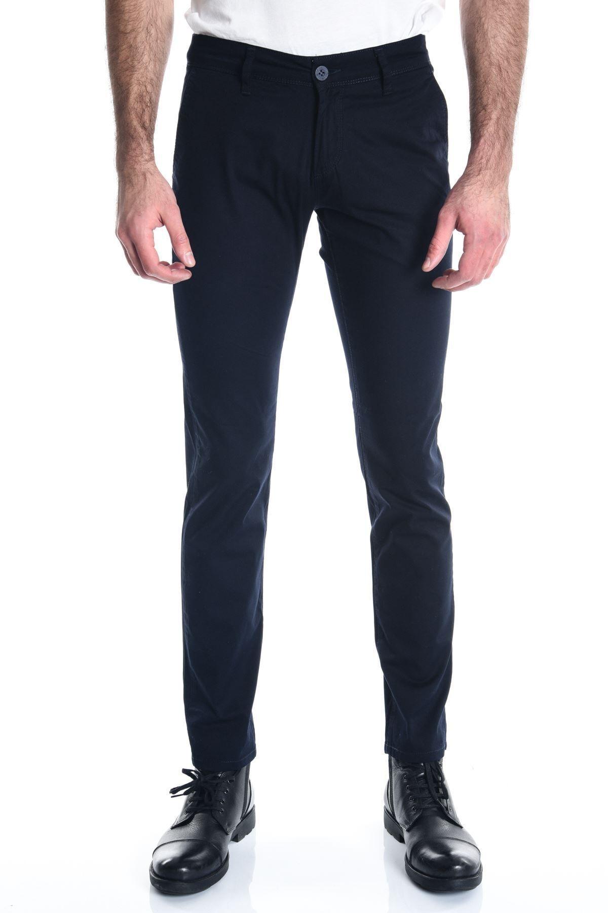 LTC Jeans Lacivert Chino Slimfit Erkek Pantolon 1