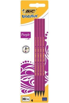Bic Evolution Purple Kurşun Kalem Mor Kurşun Kalem Kırılmaya Karşı Dayanıklı