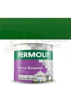 Permolit Enamel Çimen Yeşili Sentetik Yağlı Boya 0.250 Litre