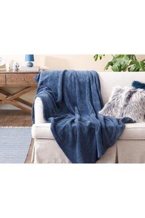 English Home Softy Wellsoft Tv Battaniye 120x170 Cm Mavi