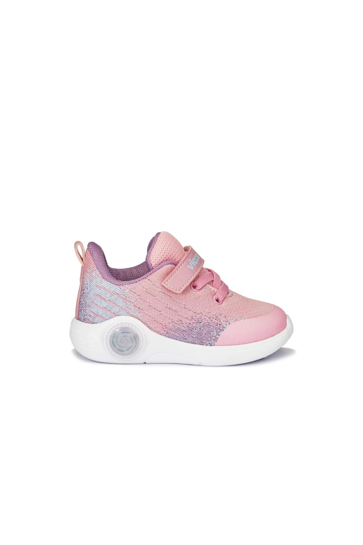 Vicco Kız Bebek Neo Pembe Spor Ayakkabı 2