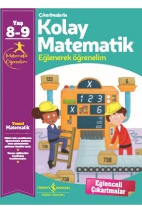 İş Bankası Kültür Yayınları Çıkartmalarla Kolay Matematik (8-9 Yaş)