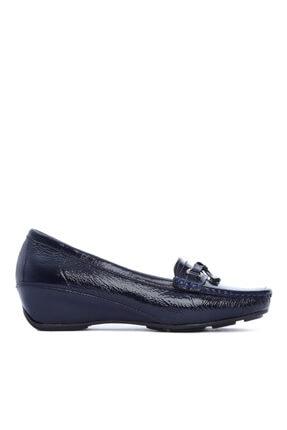 KEMAL TANCA Kadın Derı Dolgu Topuklu Ayakkabı 673 Nst-500 Bn Ayk Sk20-21